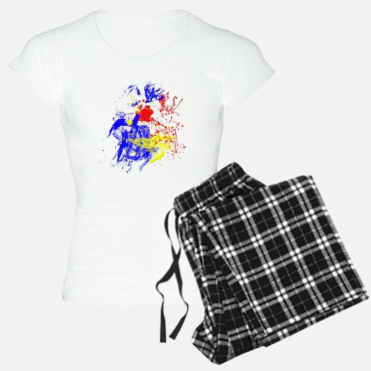 Primary Splatter Pajamas