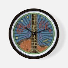 eadgbe-guit-color-LTT Wall Clock