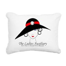 Ladies Aux Rectangular Canvas Pillow