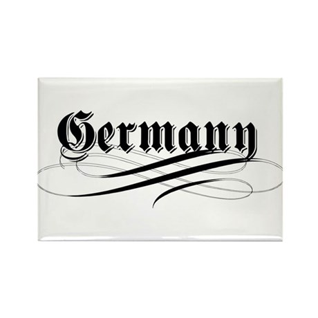 Germany Gothic Rectangle Magnet (10 pack)