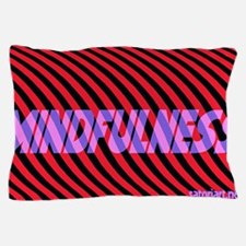Aa-mindfulness blu-purp 1-25-13 Pillow Case