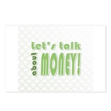 Let's talk about money Postcards (Package of 8)