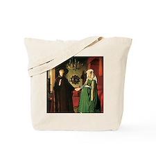 Jan van Eyck The Marriage Tote Bag