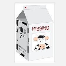 Milk Carton Postcards (Package of 8)