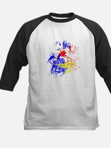 Primary Splatter Baseball Jersey