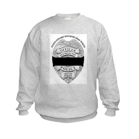 Officer Down Kids Sweatshirt