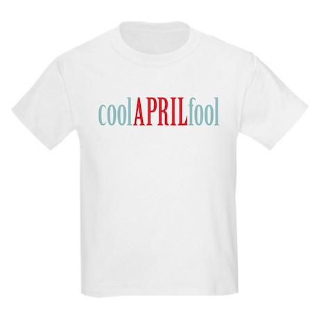 cool April fool Kids Light T-Shirt