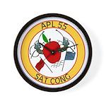 APL 55 Sat Cong Wall Clock