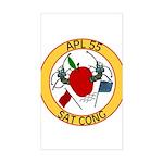 APL 55 Sat Cong Rectangle Sticker