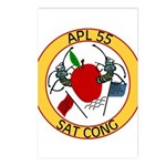 APL 55 Sat Cong Postcards (Package of 8)