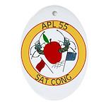 APL 55 Sat Cong Oval Ornament