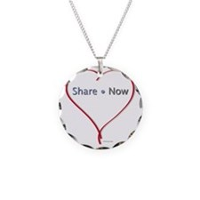 Facebook Heart - Share now Necklace