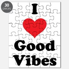 I Love Good Vibes Puzzle