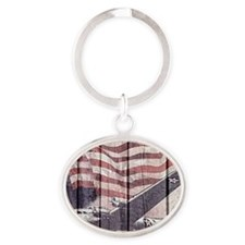 Planes of war Oval Keychain