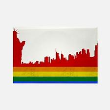 LGBT New York Rectangle Magnet