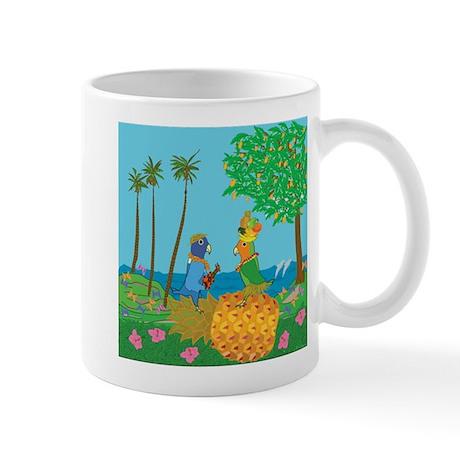 Carmelita & The Blue Boy in Hawaii Mug