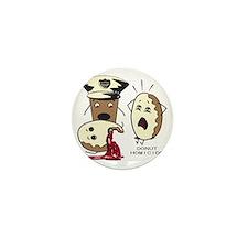 Donut Homicide Mini Button