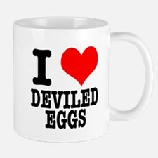 I heart (Love) Deviled Eggs Mug