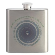 Be The Change Flask