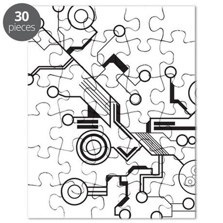 Circuit Board Puzzle by ADMIN_CP79983665