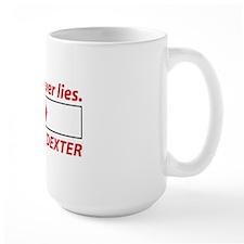 dexterBloodLies4D Mug