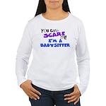 Babysitter Women's Long Sleeve T-Shirt