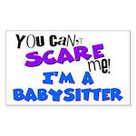 Babysitter Rectangle Sticker