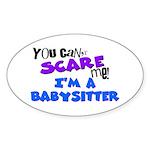 Babysitter Oval Sticker