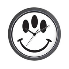 Third Eye Smiley Wall Clock