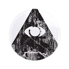 "Urban Illuminati  3.5"" Button"