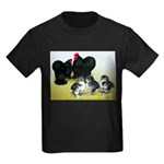 Black Cochin Family Kids Dark T-Shirt