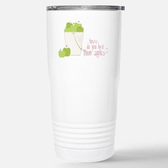 Them Apples Stainless Steel Travel Mug