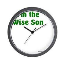 Im the Wise Son Wall Clock