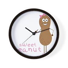 Sweet Peanut Wall Clock