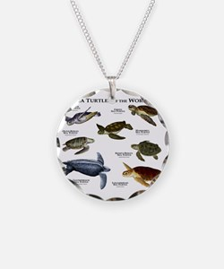 Sea Turtles of the World Necklace