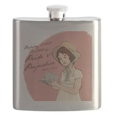Pride  Prejudice 200 Years Flask