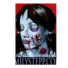 Zombie Portrait Postcards (Package of 8)
