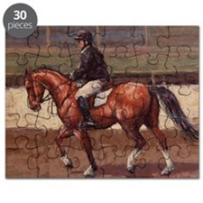 Thoroughbred Jumping Horse Puzzle