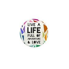 adventure&love Mini Button