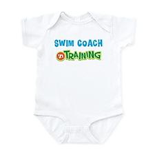 Swim Coach in Training Onesie