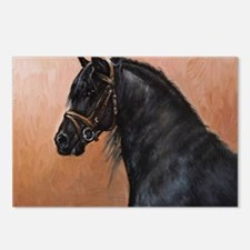 Friesian Horse Postcards (Package of 8)