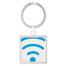 I Love the Internet Square Keychain