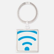 I Love the Internet Square Keychain