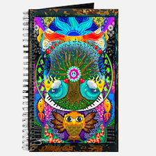 Trippy Tree Owl Journal