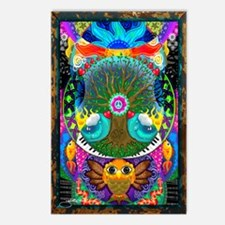 Trippy Tree Owl Postcards (Package of 8)