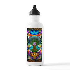 Trippy Tree Owl Sports Water Bottle