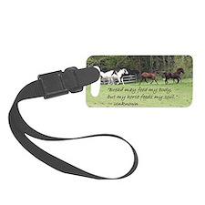 Horses feed my soul Luggage Tag