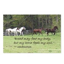 Horses feed my soul Postcards (Package of 8)
