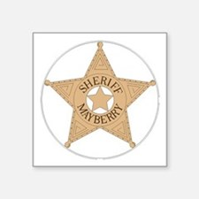 Sheriff Mayberry Sticker