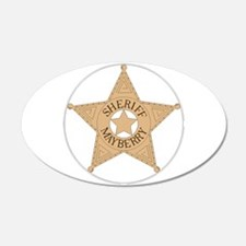 Sheriff Mayberry Wall Decal